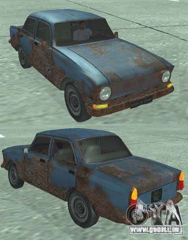 Rusty Moskvitch 408 pour GTA San Andreas