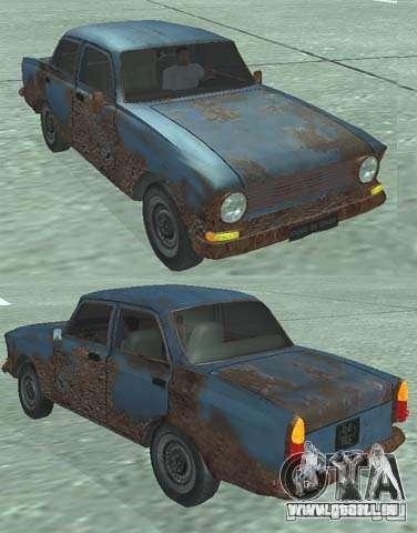 Rusty Moskvich 408 für GTA San Andreas