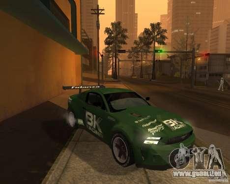 Ford Mustang GT-R 2010 pour GTA San Andreas vue de droite