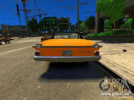 Dodge Dart pour GTA 4 Vue arrière de la gauche