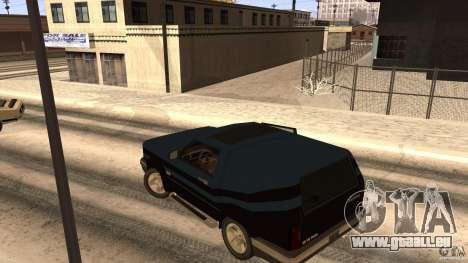 Sandking EX V8 Turbo pour GTA San Andreas vue arrière
