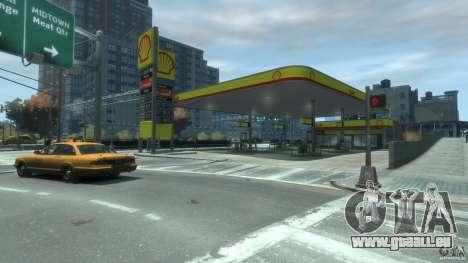Shell Petrol Station V2 Updated für GTA 4 Sekunden Bildschirm