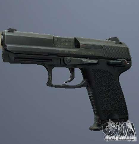 Une série d'armes de stalker V3 pour GTA San Andreas huitième écran