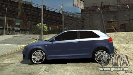 Audi S3 2006 v1. 1 tonirovanaâ für GTA 4 linke Ansicht