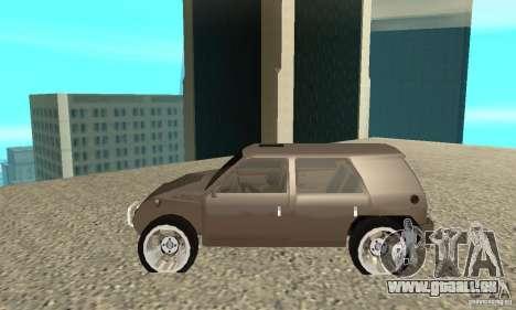 Jemala pour GTA San Andreas laissé vue