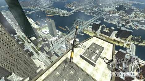 Sparrow pour GTA 4 est une vue de l'intérieur
