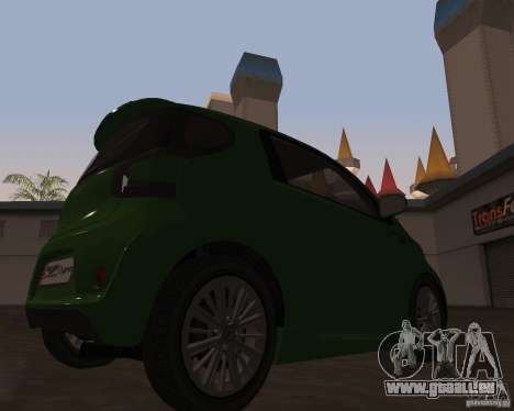 Aston Martin Cygnet Concept 2009 V1.0 pour GTA San Andreas laissé vue