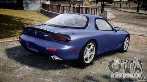 Mazda RX-7 1997 v1.0 [EPM] für GTA 4 hinten links Ansicht