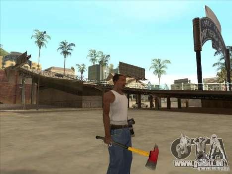 Eine Axt von Killing Floor für GTA San Andreas zweiten Screenshot