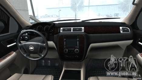 Chevrolet Tahoe 2007 pour GTA 4 est un droit