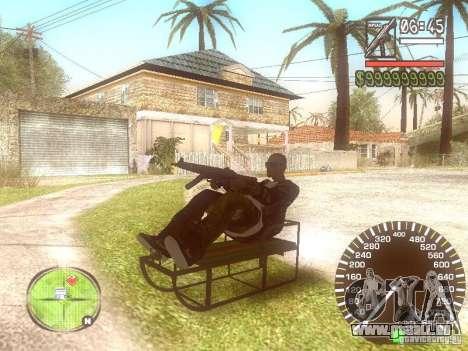 Sani für GTA San Andreas Rückansicht