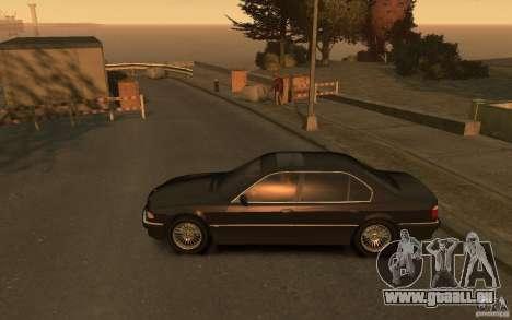 BMW 750iL (E38) v.3 pour GTA 4 est une gauche