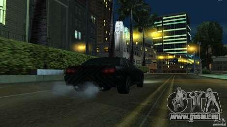 Elegy Carbon Style V 1.00 pour GTA San Andreas sur la vue arrière gauche