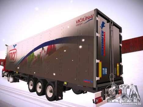 Trailer für DAF XF105 für GTA San Andreas