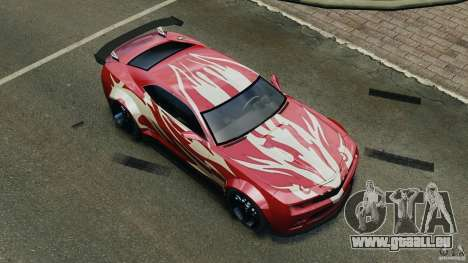 Chevrolet Camaro SS EmreAKIN Edition pour GTA 4 roues