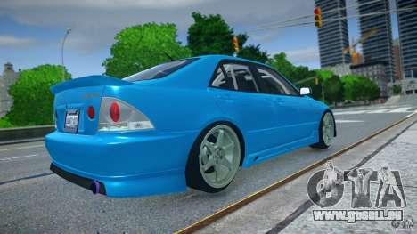Toyota Altezza pour GTA 4 est une gauche