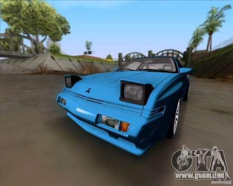 Mitsubishi Starion pour GTA San Andreas laissé vue