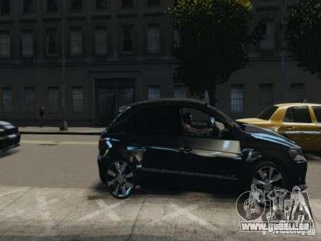 Volkswagen Gol G6 pour GTA 4 Vue arrière de la gauche