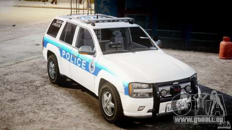 Chevrolet Trailblazer Police V1.5PD [ELS] pour GTA 4 Vue arrière