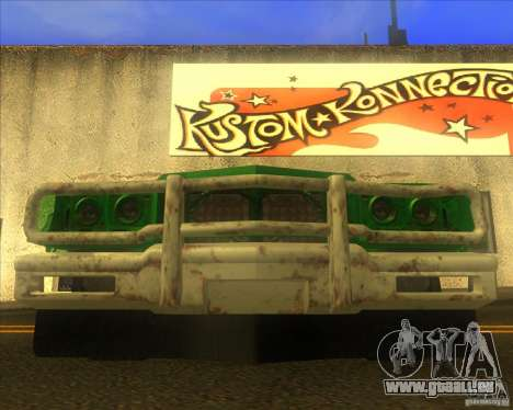 Jupiter Eagleray MK5 für GTA San Andreas obere Ansicht