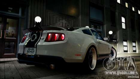 Shelby GT500 Super Snake NFS Edition für GTA 4 linke Ansicht