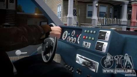 Lancia Delta HF Integrale pour GTA 4 Vue arrière
