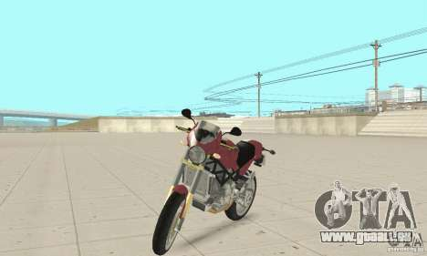 Ducati Monster S4R für GTA San Andreas