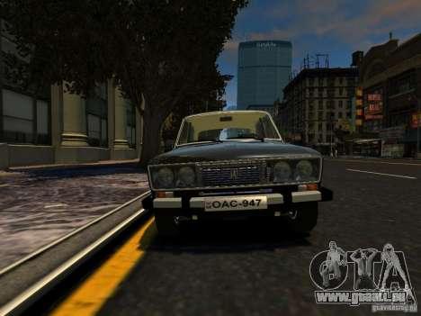 VAZ 2106 für GTA 4 hinten links Ansicht