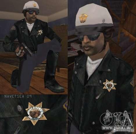 Reteksturizaciâ caractères pour GTA San Andreas septième écran