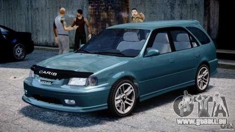 Toyota Sprinter Carib BZ-Touring 1999 [Beta] pour GTA 4 est une gauche