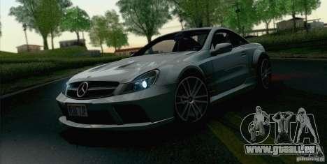 Mercedes-Benz SL65 AMG Black Series für GTA San Andreas rechten Ansicht