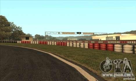 Piste GOKART Route 2 pour GTA San Andreas cinquième écran