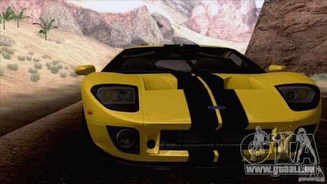 SA_nGine v1.0 pour GTA San Andreas deuxième écran