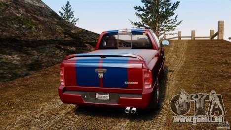 Dodge Ram SRT-10 2006 EPM pour GTA 4 Vue arrière de la gauche