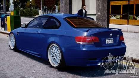 BMW M3 Hamann E92 pour GTA 4 est un droit