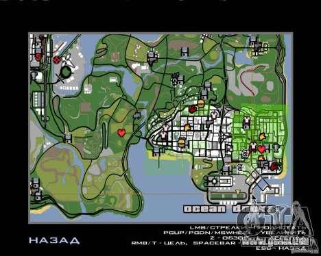 Pilote de l'emploi pour GTA San Andreas sixième écran