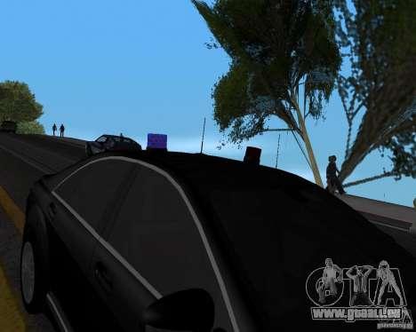 Emergency Lights pour GTA San Andreas troisième écran