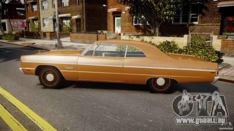 Plymouth Fury III Coupe 1969 für GTA 4 linke Ansicht