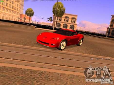 Chevrolet Corvette Z06 für GTA San Andreas
