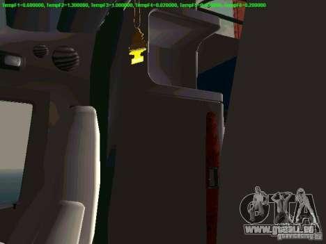 Peterbilt 387 pour GTA San Andreas vue de dessus