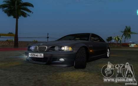 BMW M3 E46 für GTA San Andreas Seitenansicht