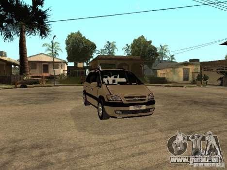 Opel Zafira für GTA San Andreas Innenansicht