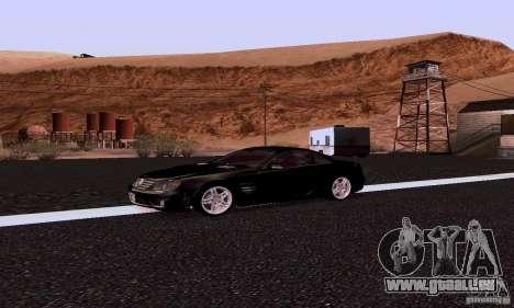 Mercedes-Benz SL65 pour GTA San Andreas laissé vue