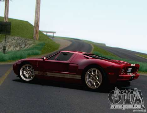 Ford GT 2005 für GTA San Andreas linke Ansicht