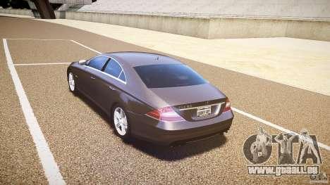 Mercedes-Benz CLS 63 pour GTA 4 est un droit