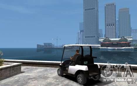 Caddy To IV pour GTA 4 Vue arrière de la gauche