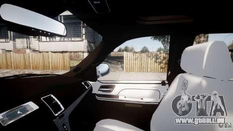 Cadillac Escalade ESV pour GTA 4 vue de dessus