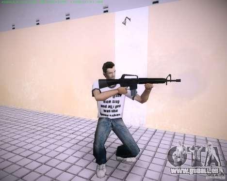 Nouveau M4 GTA Vice City pour la deuxième capture d'écran