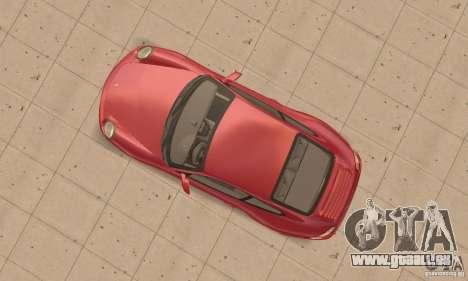 Porsche 911 (997) Carrera S v1.1 pour GTA San Andreas vue de droite
