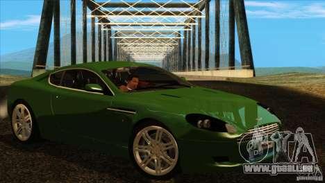 Aston Martin DB9 pour GTA San Andreas vue arrière